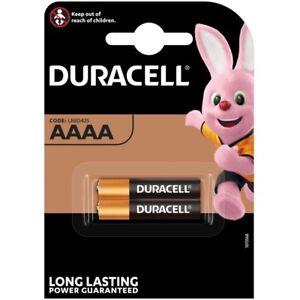 2x Batterie AAAA LR61 MN2500 MX2500 DURACELL Ultra E96 LR8 D425