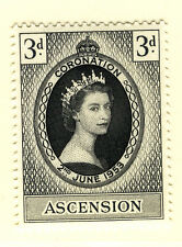 ASCENSION 1953 CORONATION MNH