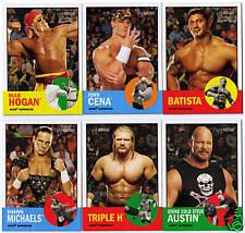 2006 WWE Heritage SUPERSTARS 57 cards subset series 2 II john cena hulk hogan ++