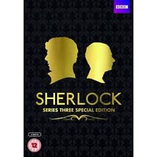 SHERLOCK COMPLETE SERIES 3 SPECIAL EDITION DVD NEW REGION 2