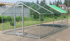 New Metal Chicken RUN 6M X 3M Walk in run For Cat Rabbit Ducks Hens