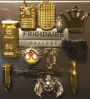 3D Fridge Magnets Lot Handcrafted 👻🧲 2~Cool~4~School