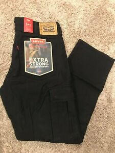 Levi's Men's 545 Athletic Fit Workwear Cargo Pant 32X30 Black RT$64.50 NWT