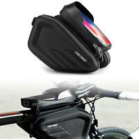 Cycling Front Top Tube Bicycle Bags Waterproof Touch Screen MTB Bike Frame Bag