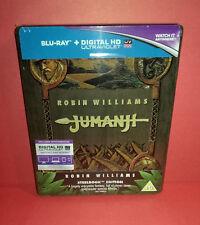 Blu-Ray : Jumanji Steelbook - Zavvi - OOP/OOS - NEW (Neuf)