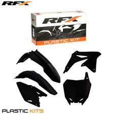 RFX Plastic Kit Suzuki (Black) RMZ450 08-16 (5 Pc Kit)