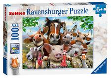 FARMYARD ANIMALS SELFIES XXL 100 PIECE RAVENSBURGER JIGSAW PUZZLE