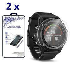 [2-Pack] For Garmin Fenix3 HR Premium Tempered Glass Screen Protector
