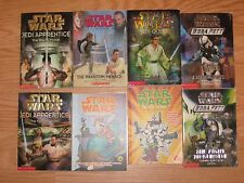 Lot 8: STAR WARS Mixed Jedi Quest Boba Fett Clone War Adventure Paperback BOOKS