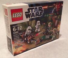 Lego Star Wars #9489 Endor Rebel Trooper & Imperial Trooper Battle Pack NISB