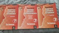 Speciale disturbi specifici di apprendimento Scienze Volume 1, 2 e 3 . Con 3 CD
