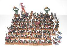 Warhammer Fantasy Orcos y Goblins 78x noche Goblins Fanáticos trols 2x 3x