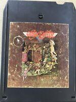 Aerosmith - Toys In The Attic 8 Track Music Cassette Stereo Tape Cartridge 1975