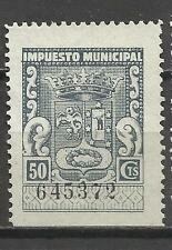 7123-SELLO LOCAL FISCAL MADRID IMPUESTO MUNICIPAL,TAX.SPAIN REVENUE 1,50 PTS