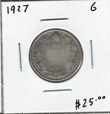 Canada 1927 25 Cent Silver G