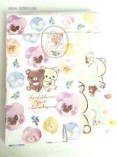 Letter Set Rilakkuma San-X Paper Stationery  Envelopes 4 types Kawaii JAPAN