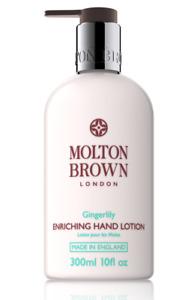 Genuine Molton Brown London Gingerlily Enriching Hand Lotion 300ml NEW Free Post