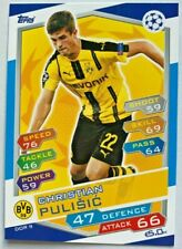 CHRISTIAN PULISIC ROOKIE CARD SOCCER 2016-17 DORTMUND CHAMPIONS LEAGUE TOPPS