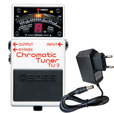 Boss TU-3 Chromatic Tuner + Power Supply