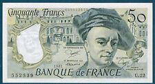 FRANCE - 50 FRANCS QUENTIN DE LA TOUR Fayette n°67.7 de 1981 en NEUF U.22 552539