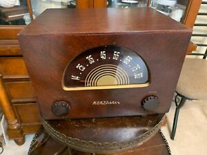 Antique Electronics RCA Victor UHF Selector. Not a Radio, Replaced Capacitors