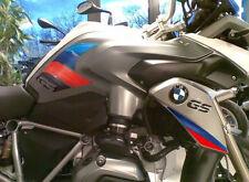 2 ADESIVI 3D PROTEZIONI LATERALI RALLY compatibili MOTO BMW GS R1200 / 2013-2016