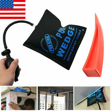 Auto Air Pump Wedge Entry Inflatable Shim Car Window Opener Tool Kit Universal