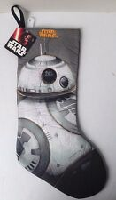 """Star Wars Disney Bb-8 Droid Christmas Stocking 19"""" New With Tag"""