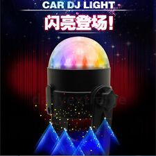 Auto Car Disco DJ RGB LED Light Strobe Lighting Stage Party Bar Music Active 12V