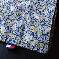 Tommy Hilfiger Pillow Sham Elizabeth Floral Blue Yellow White Standard