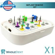 Broken Screw Extractor Total Remove Sos Kit Dental Im Plant Sur Gical Tool