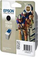 GENUINE ORIGINAL EPSON T003 BLACK INK CARTRIDGE EPSON STYLUS PHOTO COLOR 900/980