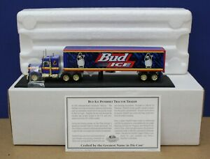 Matchbox Collectibles DYM36677  Peterbilt Semi Bud Ice HO 1:87 MIB w/ COA 1998