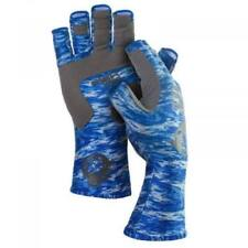 Blue Casting Glove Finger Stall Protector Sea Fly Carp Fishing Accessory K7O1