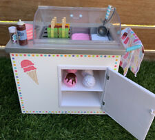 American Girl Truly Me 2016 Ice Cream Cart & Accessories-Retired 2018