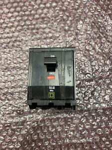 Used Square D Type 3 Pole Circuit Breakers AL-CU 8-14 240VAC 40 AMP