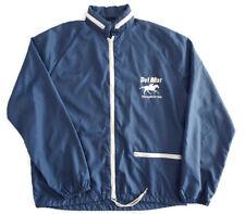 Vintage Del Mar Thoroughbred Club Jacket Coat Horse Racing Size S Windbreaker