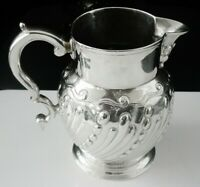 Antique Silver Cream Jug, John Lambe London 1785, Rare Intaglio Duty Mark