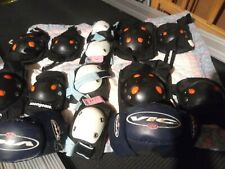 Knee and Elbow Pads, Kids 4 Assorted Sets