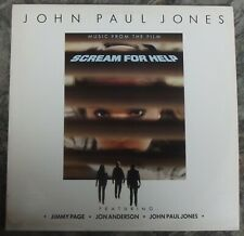 John Paul Jones feat Jimmy Page - Music Scream For Help LP 1985 Atlantic 80190-1