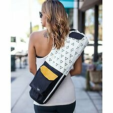 Organic Yoga Mat Bag Fair Trade Yoga Mat Carrier Shoulder Carry Crossbody Pack