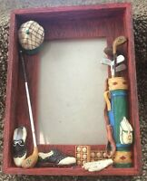 Golf Themed Photo Frame Golf Fathers Day Birthday Gift Dad 3D