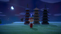 Animal Crossing New Horizons 3 Colors PAGODA SET Items Furnitures in Game