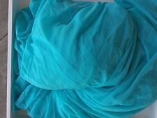 Light Turquoise Nylon Spandex 4 way stretch powernet mesh swim/activewear fabric