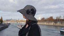 Chapeau Tweed Chevron Fleurs Sac Chanel