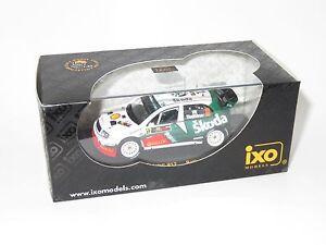 1/43 Skoda Fabia WRC  Shell Helix  Rally Cyprus 2005  J.Tuohino