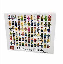 LEGO® Minifigure Puzzle   Minifiguren Logo   1000 Teile   Geschenk