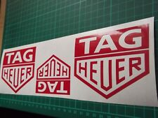 HEUER   Stickers   Race Rally X3 7 YEAR VINYL