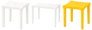 IKEA Utter Children's Table Stool Indoor Outdoor Plastic Simple Multicolour Kids