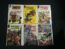 BROTHER OF THE SPEAR 1967  LOT OF 18 COMICS... FROM #'S 205-602,  VF - NM